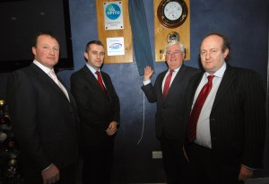 OPITO plaque at the SEFtec NMCI Offshore joint venture launch. Picture: Pascal Ungerer
