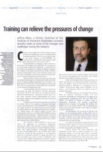 International Bulk Journal Feature on GTSS Lecturer