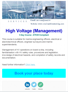 High Voltage STCW