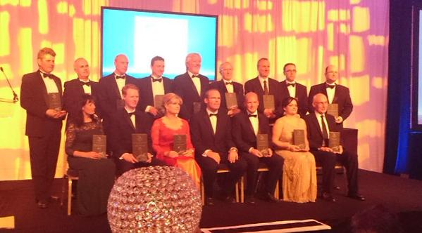 Category Winners at the Maritime Industry Awards 2015