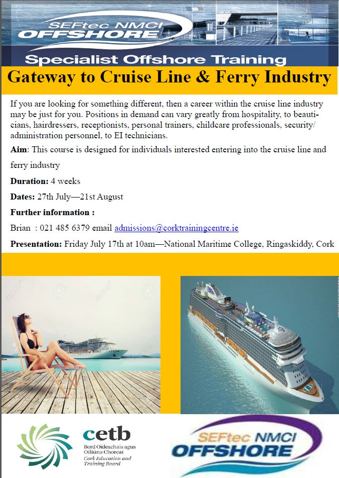 Gateway to Cruise Line & Ferry Industry