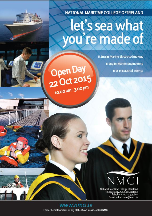 National Maritime College of Ireland Open Day