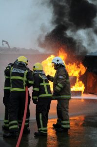 STCW Refresher Training Fire Fighting Image