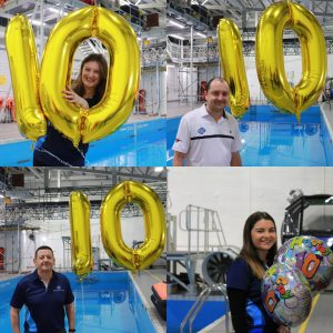 GTSS Team with Balloons