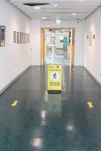 one way pedestrian system at the NMCI